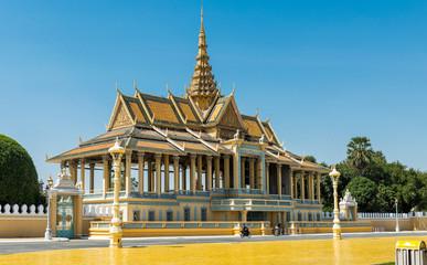 Silver Pagoda Royal Palace, Phnom Pehn, Cambodia