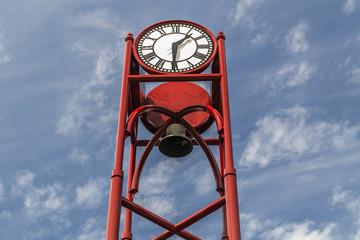 Clock tower in Petoskey, Michigan
