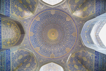 Imam Mosque (Masjed-e Imam)  in Isfahan, Iran