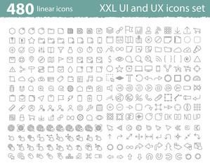 UI UX icons