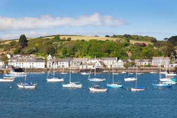 Beautiful english seaside view