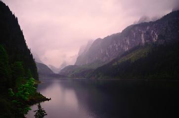 gosausee und viele berge