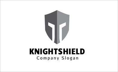 Knight Shield logo template