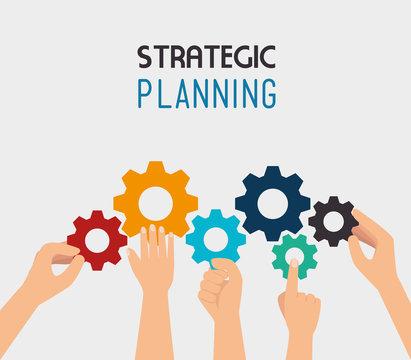 Strategic planning design.