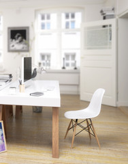Twin Home Office (focus)