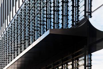Modern financial office building