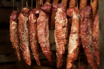 smokehouse - Smoked meats - ham, bacon