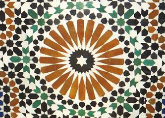 Cerámica ornamental en Marruecos, Norte de África
