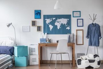 Designed study room