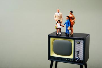 家族とテレビ
