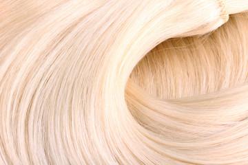 Blond hair extension