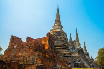 Ancient palaces. Ayutthaya Thailand.
