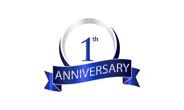 ring ribbon anniversary logo