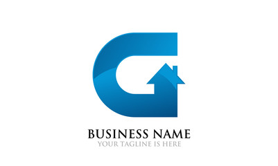 G Home and Realty Logo Template