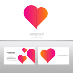 Abstract Creative concept vector image logo of for web and