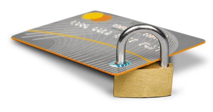 Credit Card, Security, Lock.
