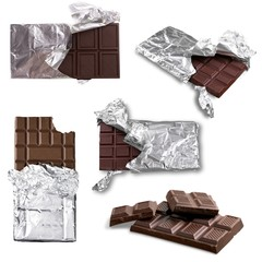 Candy Bar, Chocolate, Foil.