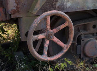 part of an old wagon
