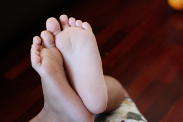 Feet / A picture of child feet