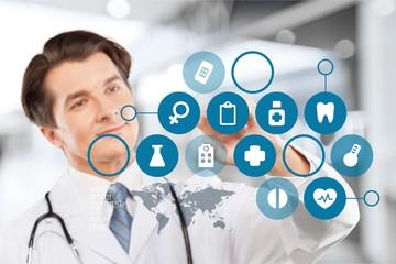 Medical, network, human.