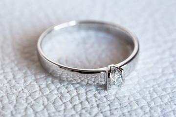 Diamond ring as a gift