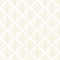 Seamless Damask Pattern Wallpaper Vector