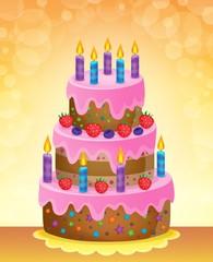 Birthday cake theme image 5