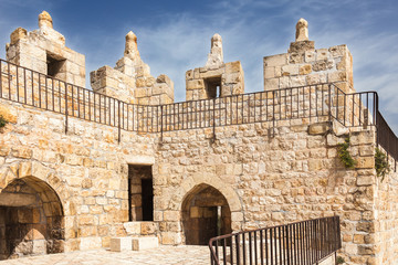 Part of wall of Jerusalem old city
