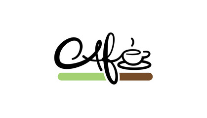 Cafe Logo template