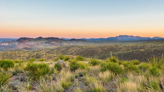 Chisos Mountains, Sotol Vista, Big Bend National Park, TX