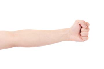 手 腕 グー 拳 握る