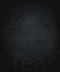beverage and coffee background