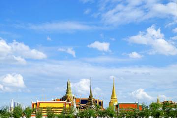 Wat Phra Si Rattana Satsadaram or watphrakaew in Bangkok Thailan