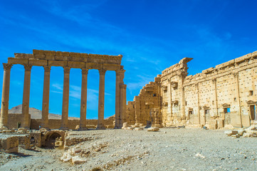 UNESCO World Heritage Site. Palmyra, Syria.