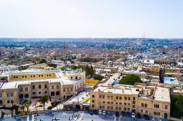 Cityscape of Aleppo, Syria