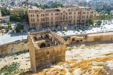 Ruins of Aleppo, Syria.