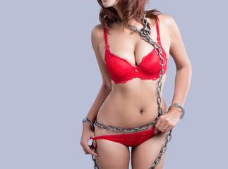 Young beautiful Sexy Asian model