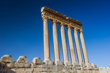 Jupiter temple of Baalbek, Lebanon