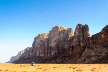 Wadi Rum valley, Jordan