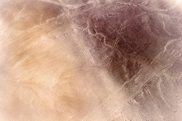 Nazca desert (Sechura Desert), south of the Piura Region of Peru