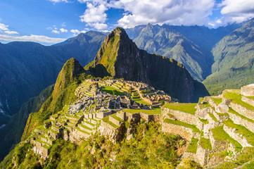 Wall Murals South America Country Machu Picchu (Peru, Southa America), a UNESCO World Heritage Site