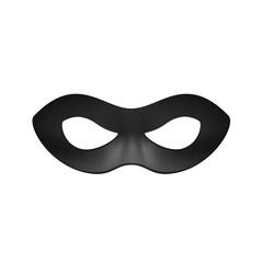 Eye mask in black design