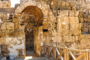 Сoast of Caesarea Maritima, Israel