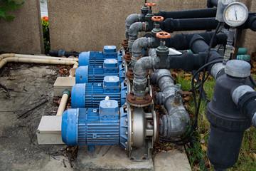 motor pump water