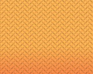 編みこみ柄 / オレンジのグラデーションの中に丁寧な雰囲気の編みこみ柄を入れました。