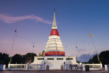 White Pagoda in twilight time
