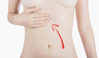 Pancia donna dolore stomaco intestino