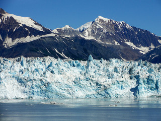 Photo sur Plexiglas Glaciers hubbard glacier in Alaska