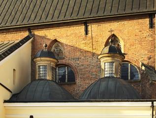 Church of the Holy Trinity in Krosno. Poland