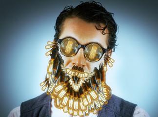 Edison Lightbulbs Beard